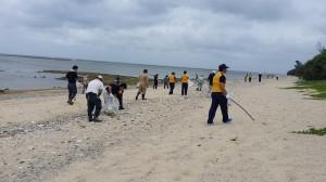 20150628海岸清掃3