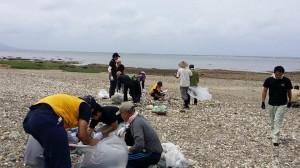 20150628海岸清掃10