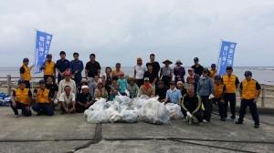 628海岸清掃