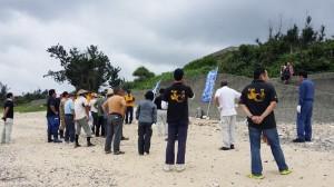 20150628海岸清掃1