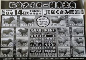 20150814ナイター闘牛大会