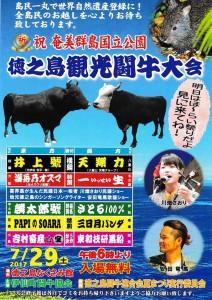 夏祭り闘牛