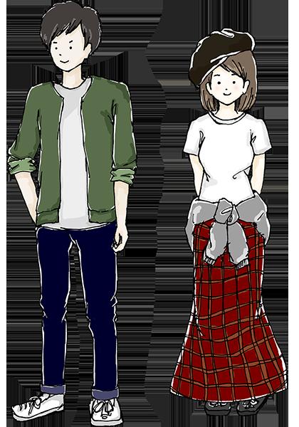 10月から11月頃の服装