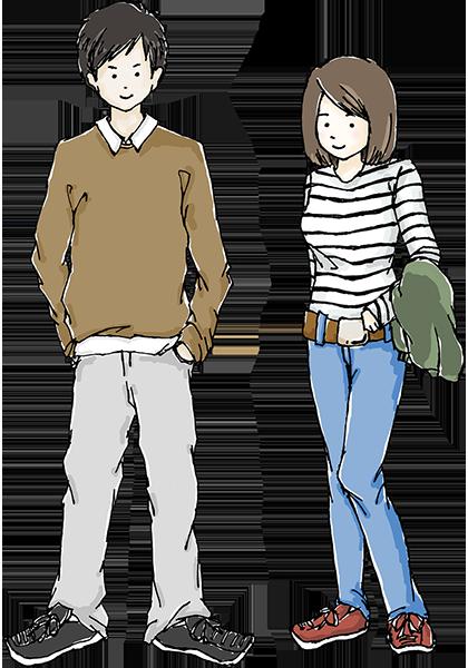 3月から5月頃の服装